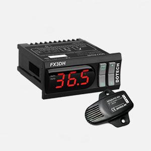 کنترلر دما و رطوبت دیجیتال FX3DH